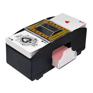Bridge Game Electric Playing Card Shuffler Automatic Poker Shuffling Machine E
