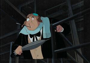 Batman Animated Series- Original Production Cel/OBG- Penguin-Blind As A Bat