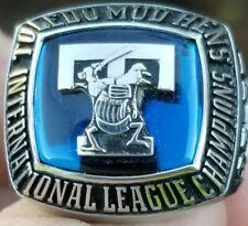2005 TOLEDO MUD HENS INTERNATIONAL LEAGUE CHAMPIONS CHAMPIONSHIP RING BALFOUR