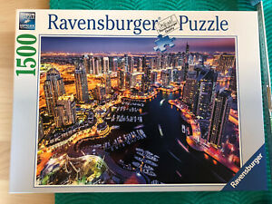 Ravensburgerpuzzle 1500 Teile Dubai Marina