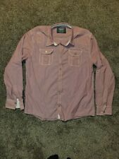 Buckle BKE Mens Designer Athletic Fit XL Button Up Shirt