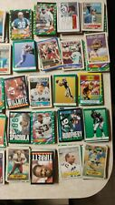 HUGE Lot of 880 Different Football Cards 80's & 90's Vintage Many Teams/Players
