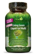 Living Green Liquid-Gel Multi for Women's Irwin Naturals 120 Softgel