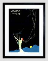 ADVERT RAVINIA SEASON 1918 MAGAZINE COVER NEW BLACK FRAMED ART PRINT B12X10462