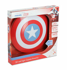 Philips Marvel Captain America LED Wandleuchte 3d rot 915005309601
