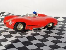 Scalextric 1960's D-Type Jaguar Red #15 c60 1.32 used Unboxed