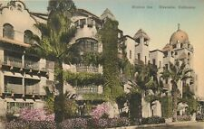 DB Postcard CA G538 Mission Inn Riverside Calif Handcolored Spanish Architecture