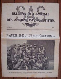 Bulletin Parachutiste SAS N° 11 - TAP - Indochine.