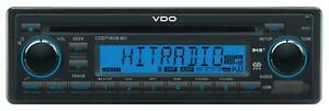 VDO CDD718UB-BU CD/MP3-Autoradio mit Bluetooth DAB USB AUX-IN