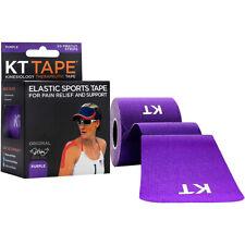 """Kt Tape хлопок 10"""" листовых кинезиология терапевтический спорт ролл, 20 полосок, фиолетовый"""