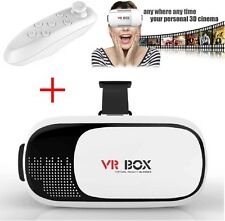 2nd Gen VR Box Virtual Reality Glasses Goggle Headset 3D Movie Game + Bluetooth