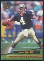 1992 Fleer Ultra Football Card #271 Steve Walsh