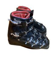 vintage black lange ski boots