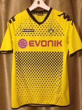 Borussia Dortmund Yellow Evonik 2011-2012 Kappa Soccer Jersey Kit Medium