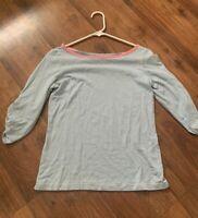 Vineyard Vines Shirt Womens Size Small S 3/4 Sleeve Stripe Top