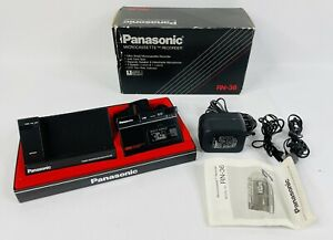 Panasonic RN-36 Microcassette Recorder Untested, In Box With Original Pieces