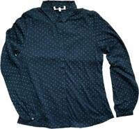 BN SEASALT 'Tregawn Navy dotty' Cotton Jersey Top Shirt Blouse Size 10 20 £19.99