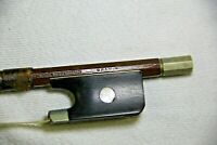 Old Violin Bow stamped BRAMIN made in Germany