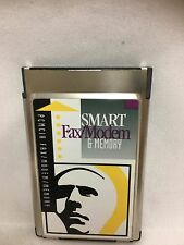SMART Fax/Modem 14.4/9600 BPS PCMCIA Modem 4MB Memory ~ Usedhandhelds