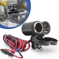 Motorrad Zigaretten Anzünder USB Buchse Steck Dose Adapter 5V Port Bike Stecker