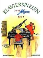 """Klavierspielen mit der Maus - Band 3 + 1 Bleistift """"Musikmotiv"""""""