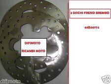 PAR 2 DISCOS DE FRENO DELANTEROS BREMBO 68B40774 PIAGGIO MP3 LT SPORT 400 2010