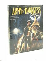 Army of Darkness (Blu-ray Disc, 2015, 3-Disc Scream Factory Collector's Ed.) NEW