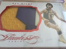 Pat Riley 2013-14 Flawless Ruby Jumbo Patch 6/15 LA Lakers Panini