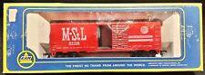 AHM 5241-14 MINNEAPOLIS & St LOUIS 40' SD Boxcar PEORIA GATEWAY M&StL 54108 MStL