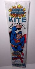 "Sealed New Vintage 1984 Superman Super Powers Superhero Dc Comics 51"" Kite Toy"