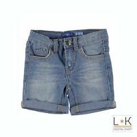 Bermuda di Jeans in Cotone Neonato Denim Sarabanda Q537