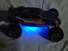 Traxxas Rustler / Bandit Version 2 (VXL / XL-5 / etc) LED underglow kit - BLUE