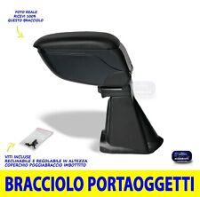 Bracciolo 500 Abarth Fiat 2008>2016 Portaoggetti Poggiabraccio Braccioli auto