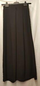 BNWT Ladies Y.A.S Black Wide Leg Trousers Size 10    (13)