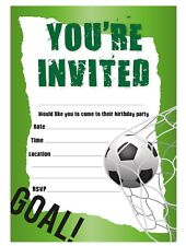 Football Party Invitations For Sale Ebay