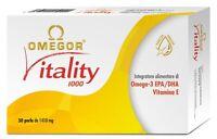OMEGOR VITALITY INTEGRATORE OMEGA 3 EPA/DHA VITAMINA E 30 PERLE DA 1410mg