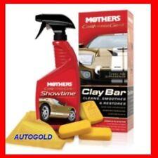 MOTHERS Clay Bar System Kit 3 prodotti Professionali Decontaminanti Vernice Auto