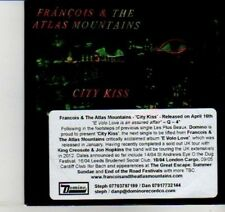 (DI548) Francois & The Atlas Mountains, City Kiss - 2012 DJ CD