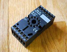 Entrelec Es12 11 Pin Socket Relay Base Used