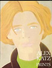 ALEX KATZ Prints, Whitney Museum Art Retrospective Exhibition Catalogue 1974 FS