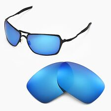 New Walleva Polarized Ice Blue Replacement Lenses For Oakley Inmate Sunglasses