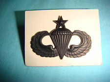 SUBDUED BADGE US QUALIFICATION PARACHUTIST SENIOR