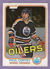 1981-82 OPC Paul Coffey Rookie Edmonton Oilers #111
