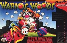 ***WARIO'S WOODS SNES SUPER NINTENDO GAME COSMETIC WEAR~~~
