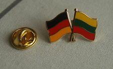 Freundschaftspin Deutschland Litauen Pin Button Badge Anstecknadel Flaggenpin