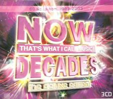 Now That's What I Call Music - Decades (3xCD 2003) Deluxe Edition; 60 Number 1's