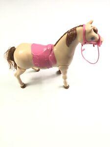 2014 Mattel Barbie Saddle N Ride Walking Horse (Only).