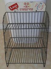 Vintage Lay's Go B-Tweens Country Store Metal Display Rack Three Tier