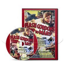 Flash Gordon's Trip To Mars (1938) Universal Movie Serial Cliffhanger (2 x DVD)
