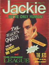Jackie Magazine 27 March 1982 No. 951   Human League   The Jets   Altered Images